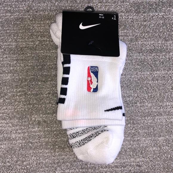 New Authentic Nike NBA Grip Socks Size L